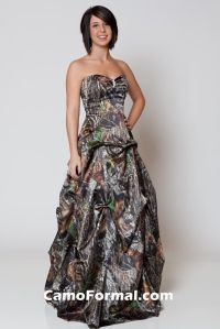 camouflage prom dresses | Pink Camouflage Prom Dresses ...