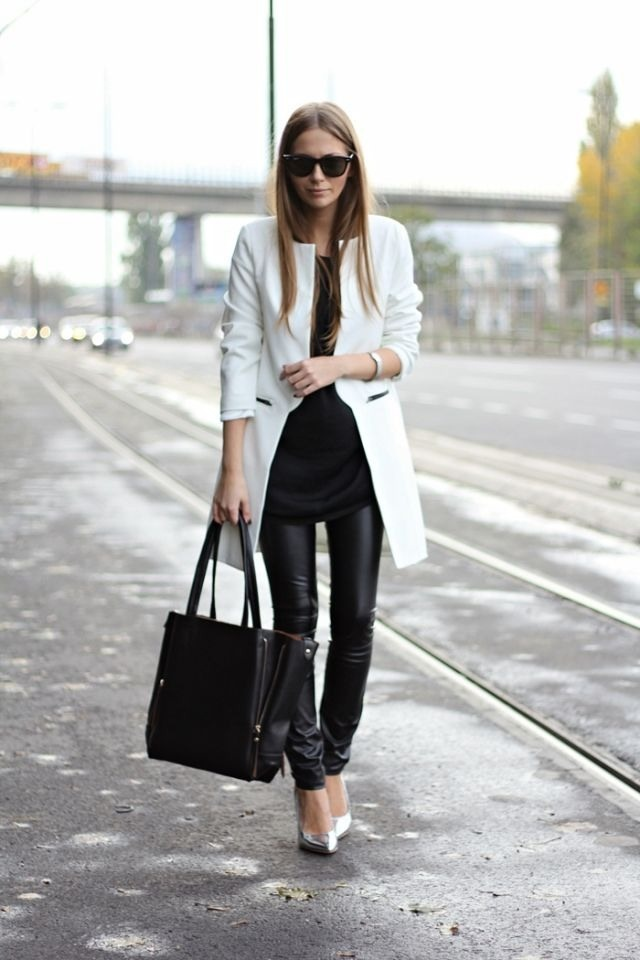 White and leather- this is everything!!!