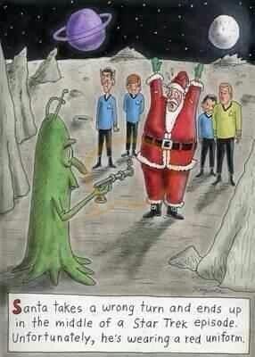 Star Trek Santa