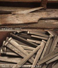 Rustic Nail & Pallet Peg Board