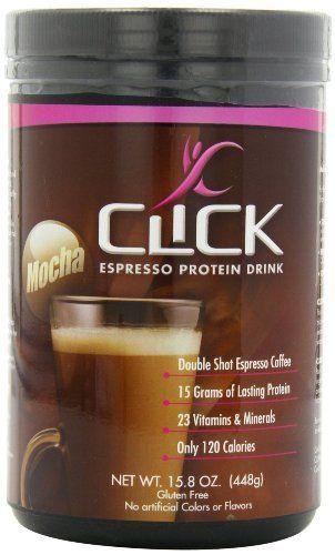 ✔️CLICK Espresso Protein Drink, Mocha (14-Servings), 15.8-Ounce Canister, http://www.amazon.com/dp/B002GKEK7G/ref=cm_sw_r_pi_awdm_-7CYtb0XHQRSR
