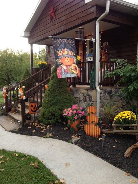 Front Yard Decorating Ideas For Fall