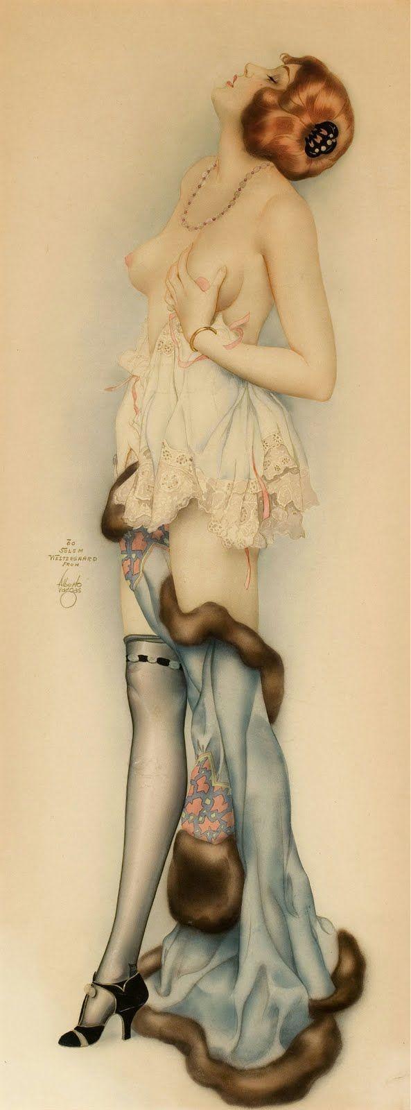 Alberto Vargas Posters Illustrations Vintage Photos