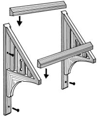 Carport Pergola Plans, Diy Wooden Door Awning, How To Make ...