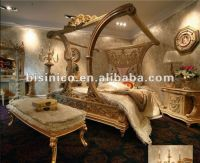Luxury European French Style Canopy Bedroom Furniture Set ...