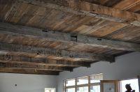 Reclaimed barnwood ceiling. Love! | My Dream House | Pinterest