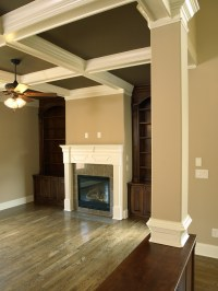 taup walls with white trim | Bedrooms | Pinterest