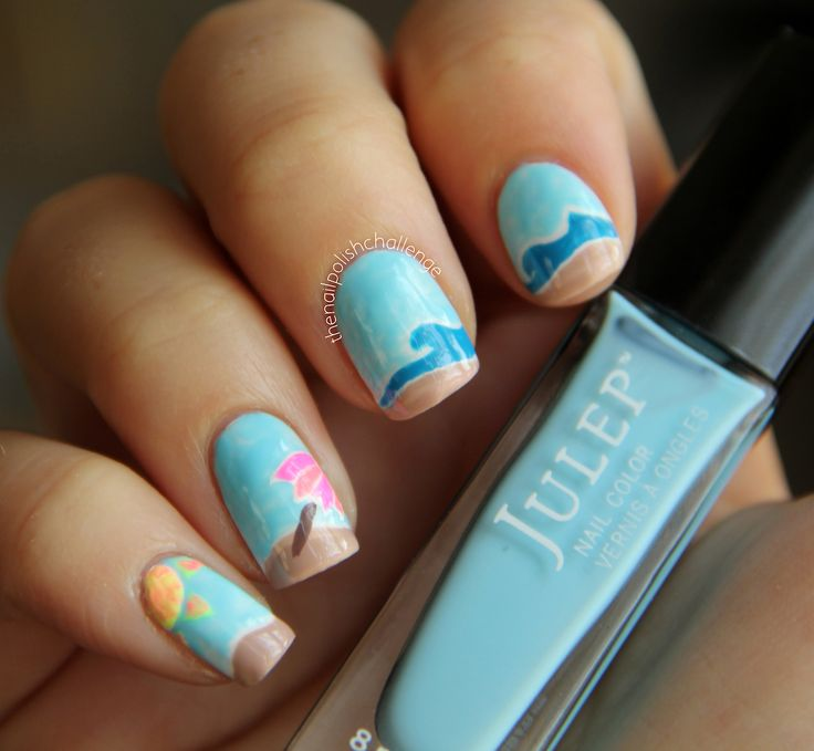 Nail Color Ideas For The Beach Confession Of Rose
