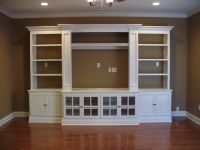 Built In Entertainment Center | Casual Cottage
