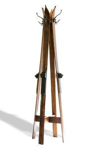 Ski Hall Tree - Standing Ski Coat Rack