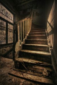 Old Staircase | Palmer house | Pinterest