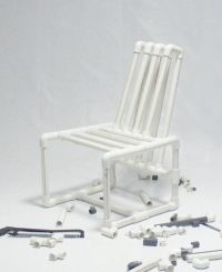 PVC pipes Chair by Ahmed Bedair   FURNITURE   Pinterest