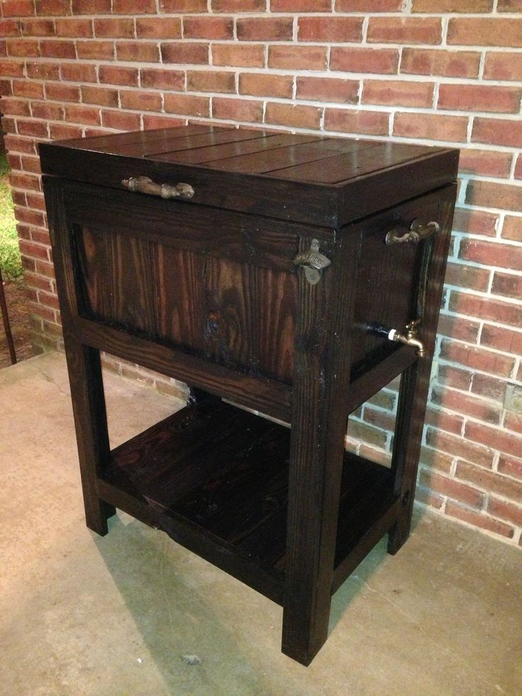Patio cooler  Things I built  Pinterest