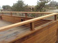 Simple and Modern Deck Railing Ideas | Deck Railing ...