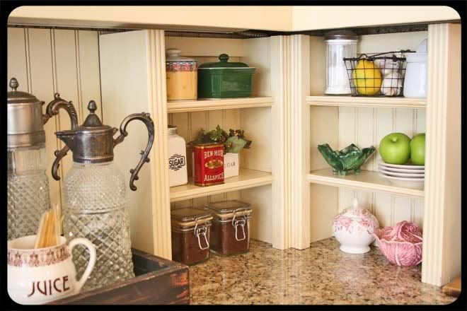 kitchen counter corner shelves  Kitchen ideas  Pinterest