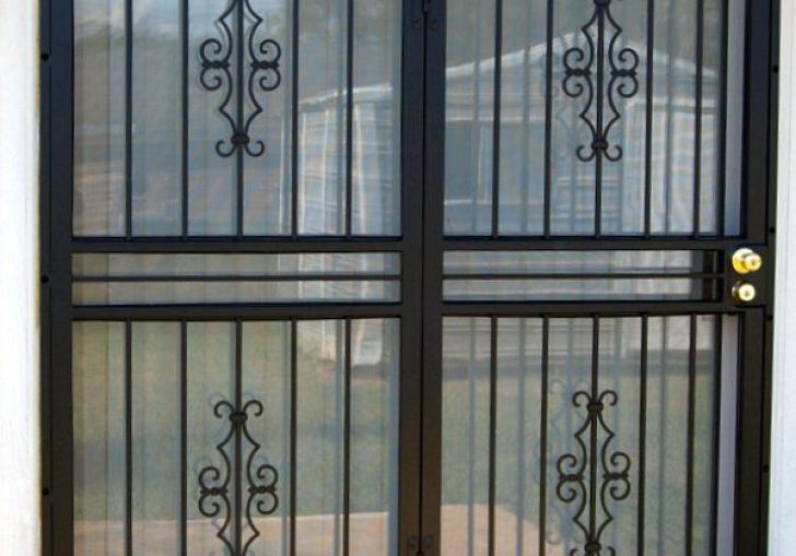 Sliding Glass Door Security Gate