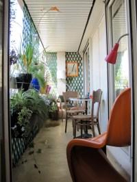 long narrow Parisian balcony