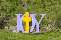 Easter Religious Outdoor Yard Decoration Sign