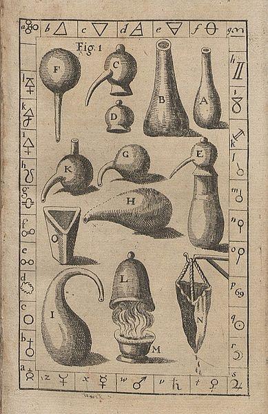 recipientes alquímicos