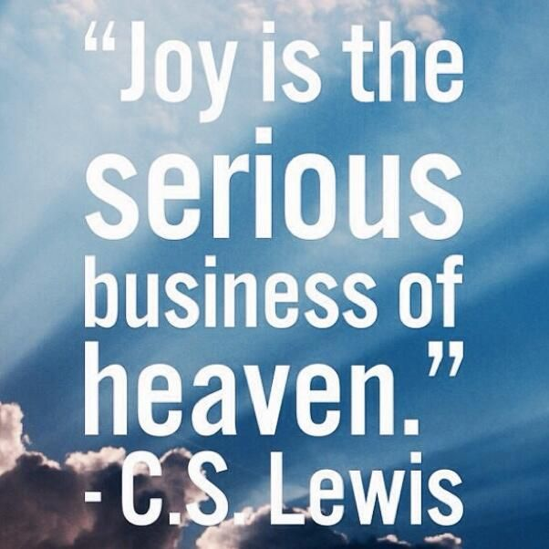 Cs Lewis Quotes On Joy QuotesGram