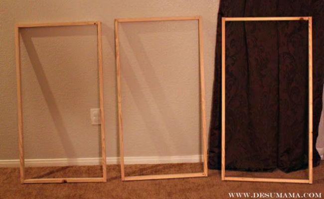 Diy Fabric Wall Panels Diy Home Necessities Pinterest