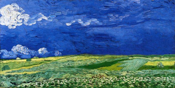 Wheatfields under Thunderclouds - Vincent van Gogh