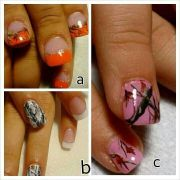 country girl nails style