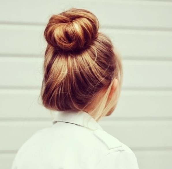 sock bun perfection