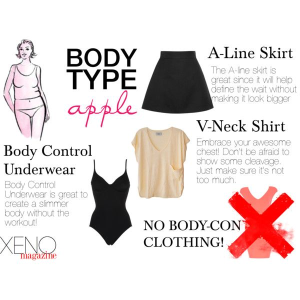 """Dressing For Your Body Type: Apple"" by delightoftheyoung on Polyvore"