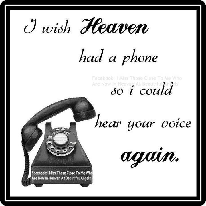 Missing You Dad Heaven