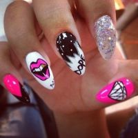 Nail Art Stiletto nails dope | Nail Art | Pinterest