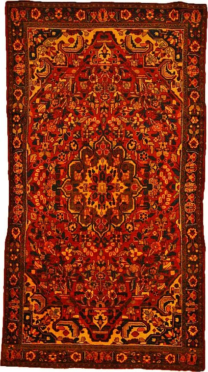 Red 5' 2 x 9' 8 Borchelu Rug | Persian Rugs | eSaleRugs