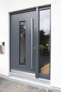 Aluminium front door | For the house | Pinterest