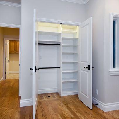 Closet organization idea.