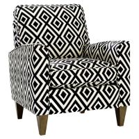Cosgrove Arm Chair | black & white | Pinterest