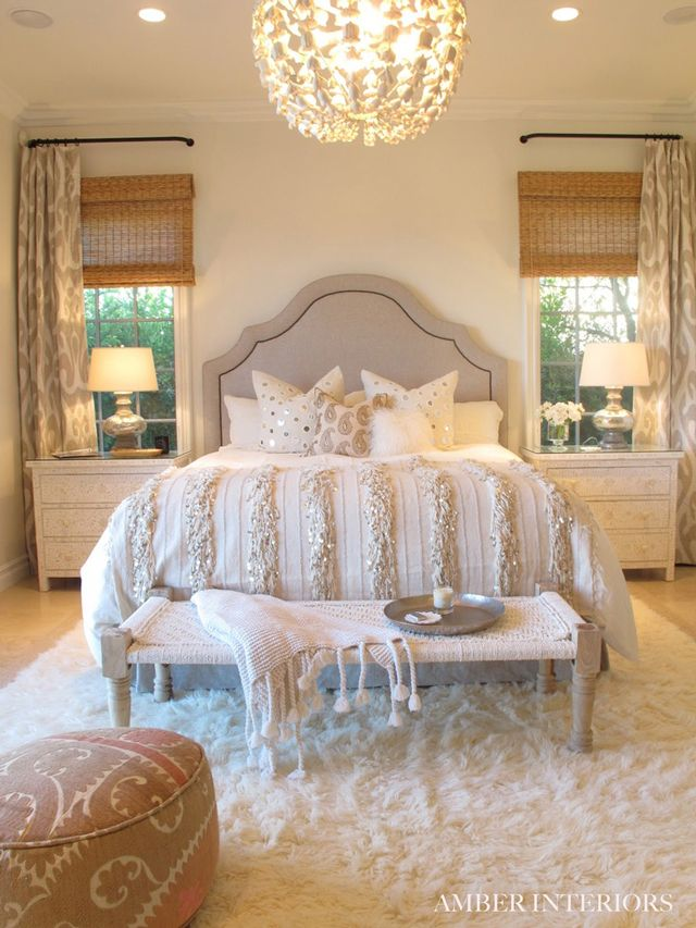Chic White Bedroom