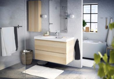 Vanity Bathroom White