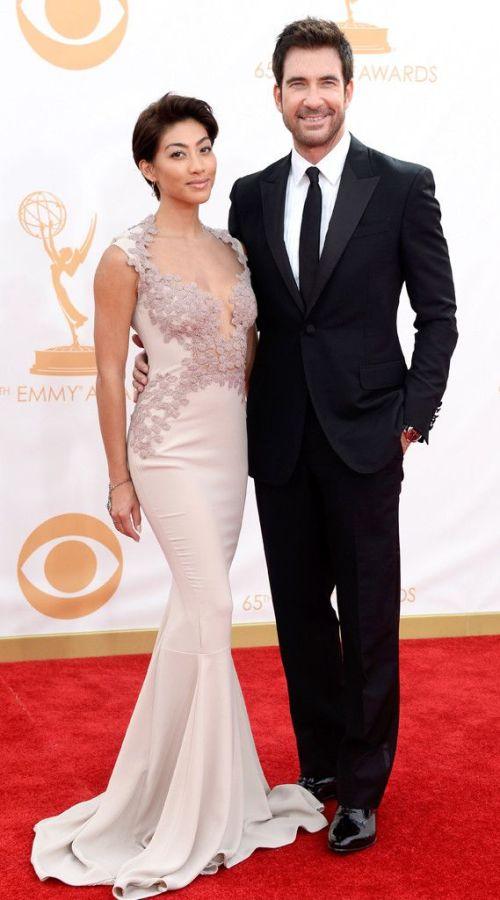 Dylan McDermott & Shasi Wells from 2013 Emmys: Red Carpet Arrivals | E! Online