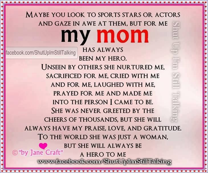 Mom Quotes Daughter I Love You