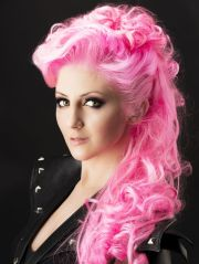 neon pink pastel hair hairstyles