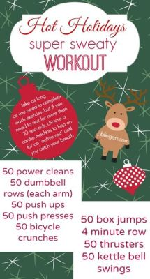 Hot Holidays *Super Sweaty* Workout