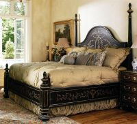 4 High end master bedroom set. Manor home collection