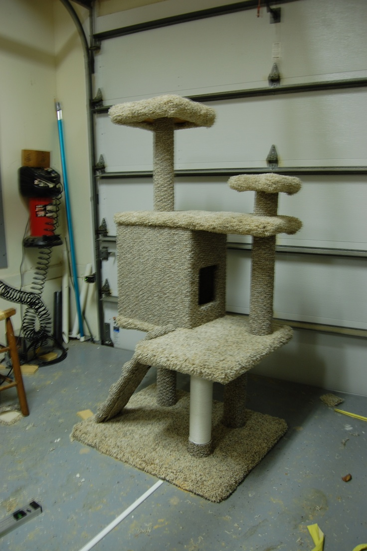 Will's Homemade Cat House  Pet Crafts  Pinterest