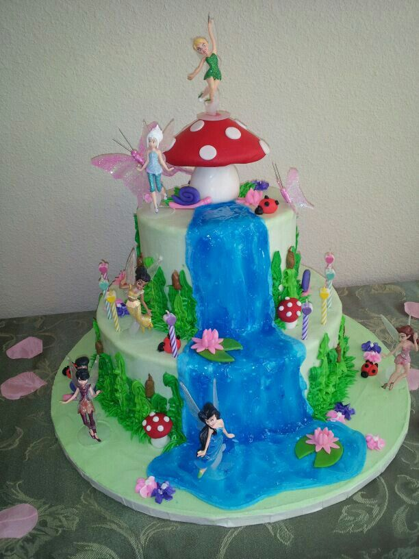 Fairy Garden Cake Ideas Photograph  Fairy Garden Party