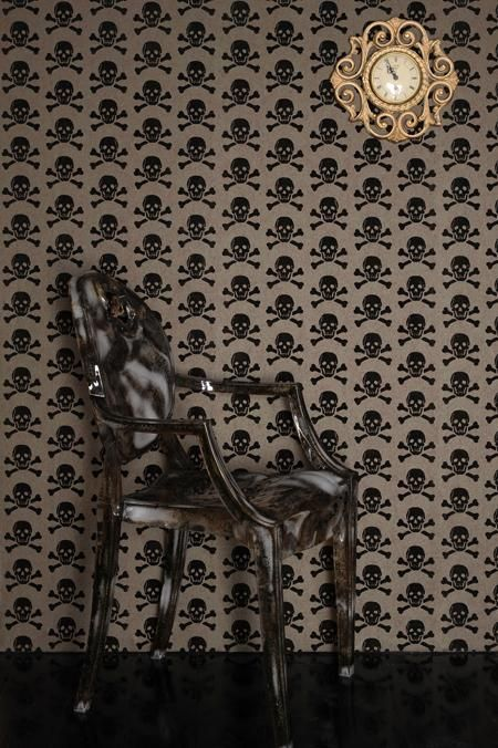 Bronze on Bronze - Eco-Friendly Wallpaper by The Wallpaper Collective