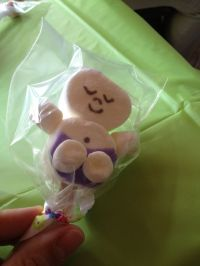 Marshmallow Baby as a Baby Shower Favor | Baby shower ...