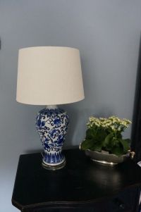 Lamp is a HomeGoods find!