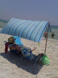 Beach Tent DIY | Beach Tent DIY | Pinterest