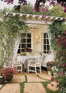 pergola - outdoor living room