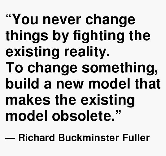 Buckminster Fuller Quotes Obsolete. QuotesGram